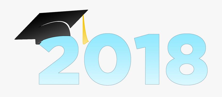 2018 cap clipart banner transparent stock Graduate Clipart Grade 6 Graduation - 2018 With Graduation Cap ... banner transparent stock