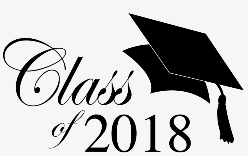 2018 clipart free download clip black and white download Jpg Transparent 2018 Graduation Clipart - Graduation 2018 Clip Art ... clip black and white download