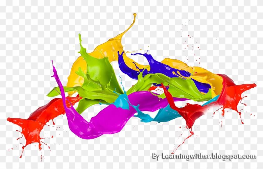 2018 colorful clipart transparent png freeuse Holi Colour Splase Png For Editing 2018-19 - Colorful Ink Splatter ... png freeuse
