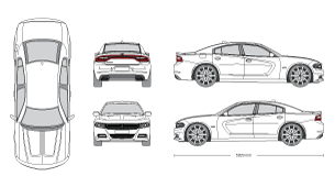 2018 dodge charger clipart clipart library mr-clipart clipart library