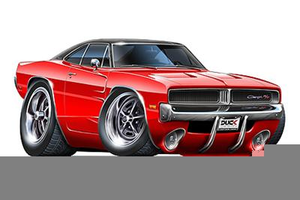 2018 dodge charger clipart clip art royalty free library Dodge Charger Clipart | Free Images at Clker.com - vector clip art ... clip art royalty free library
