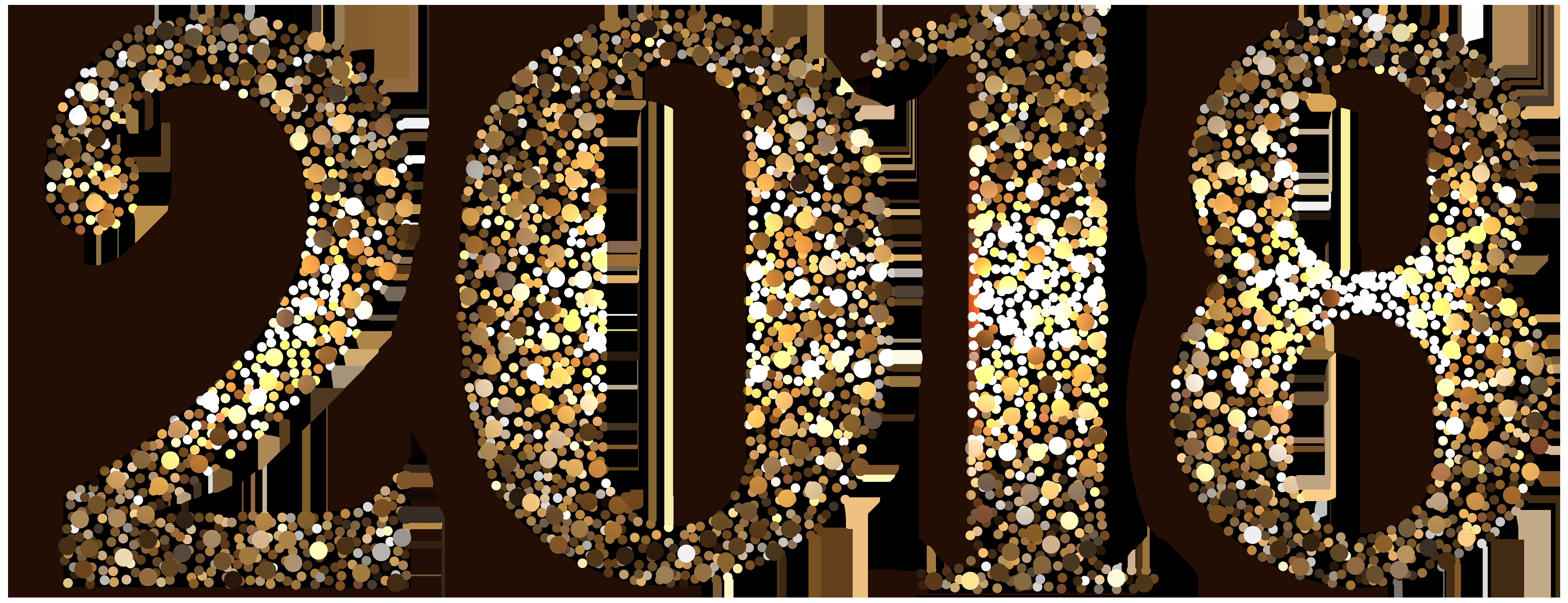 2018 free clipart svg freeuse 2018 Decorative Transparent Clip Art Image | Gallery Yopriceville ... svg freeuse