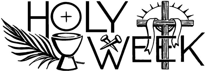 2018 holy week clipart picture stock 2018 Holy Week Services « Midwest Theater picture stock