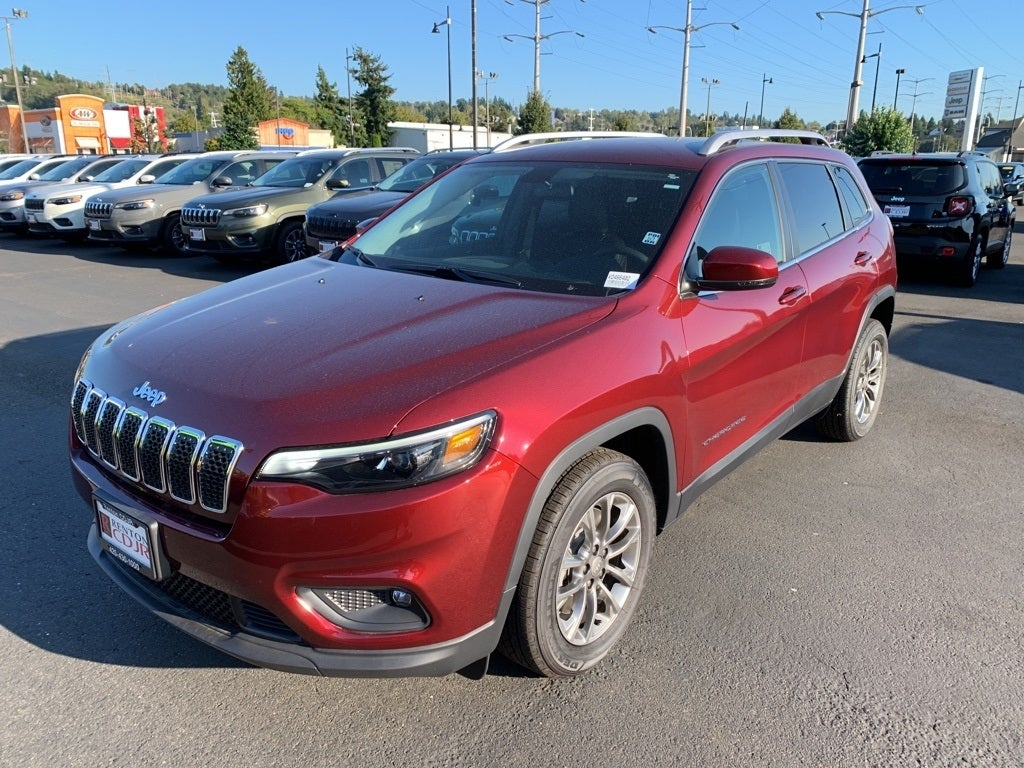 2019 Jeep Cherokee Latitude Plus vector transparent stock
