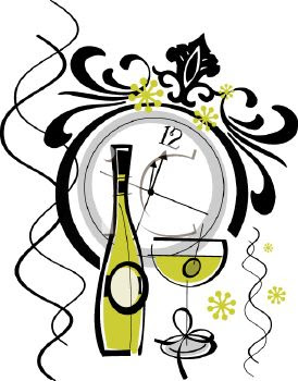2018 new years eve bottle clipart png New Year\'s Eve Bash png