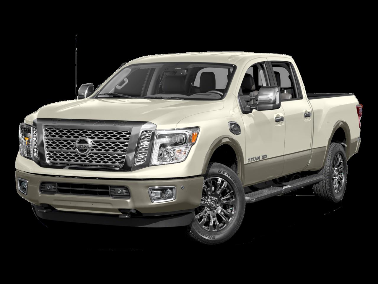 2017 Nissan Titan XD Pickup truck 2018 Nissan Titan XD Platinum ... png stock