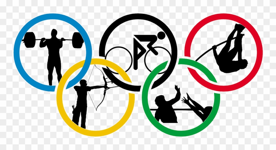Olympic Games Clipart Summer Olympics - Olympic Games - Png Download ... svg black and white