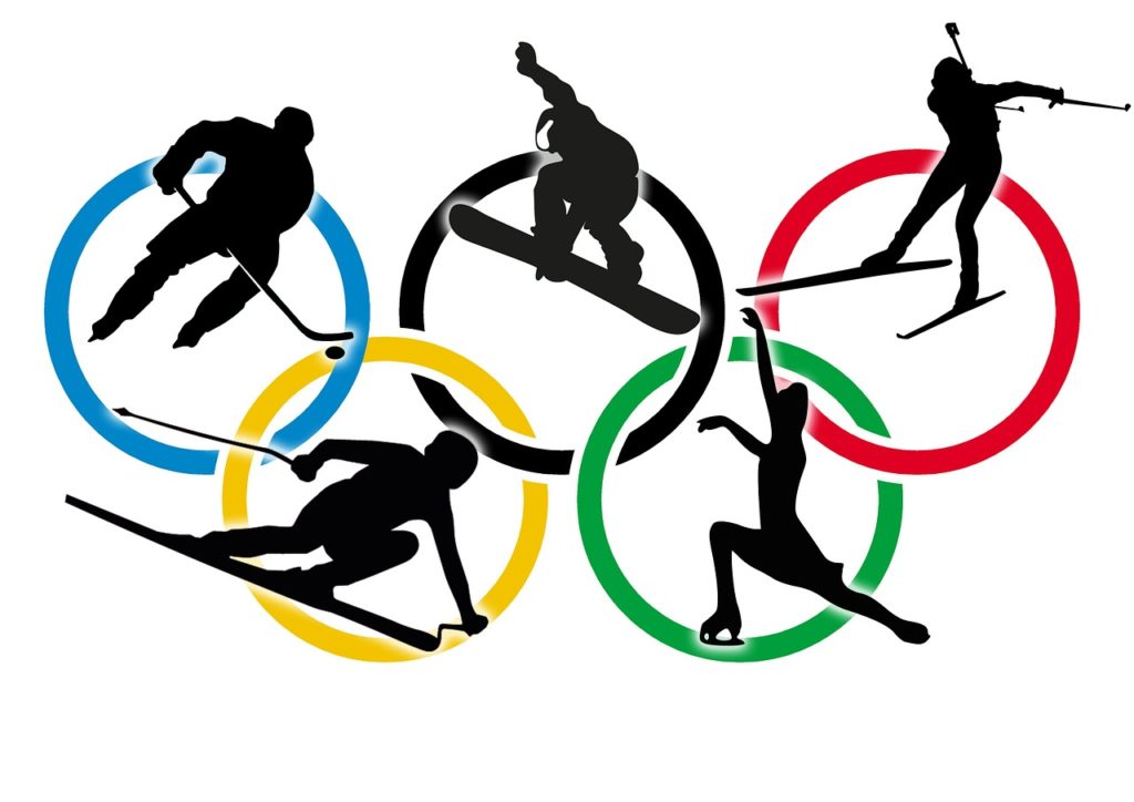 2018 olympic clipart vector stock Going for Gold: Creating Engaging Winter Olympics Themed Lessons ... vector stock