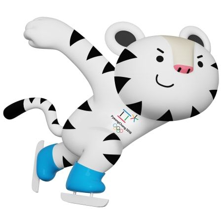 2018 olympic mascot snowboard clipart picture royalty free download Mascot | PyeongChang 2018 Olympic and Paralympic Winter Games ... picture royalty free download