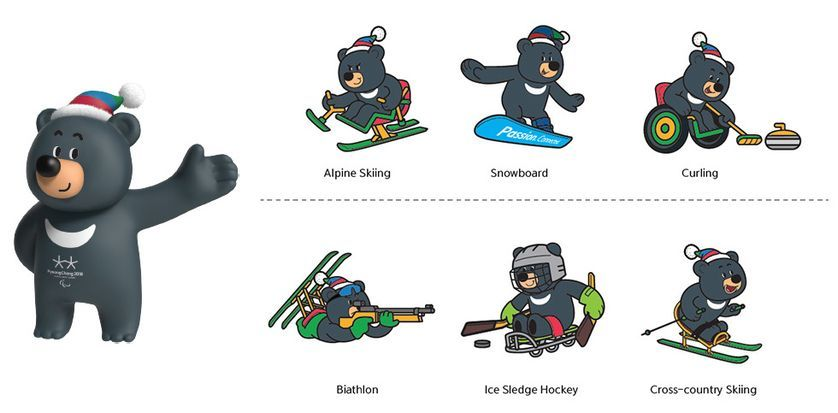 2018 olympic mascot snowboard clipart graphic download Why moon bears need a moment in the sun | Animals Asia | Olympic ... graphic download