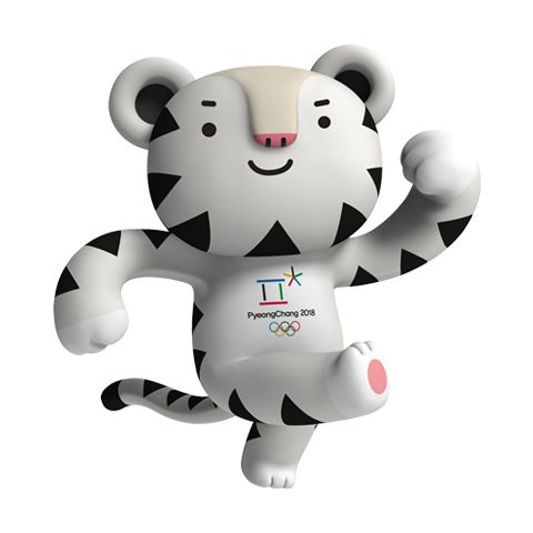 2018 olympic mascot snowboard clipart image transparent Soohorang Olympic mascot | 2018 winter olympics in 2019 | Olympic ... image transparent