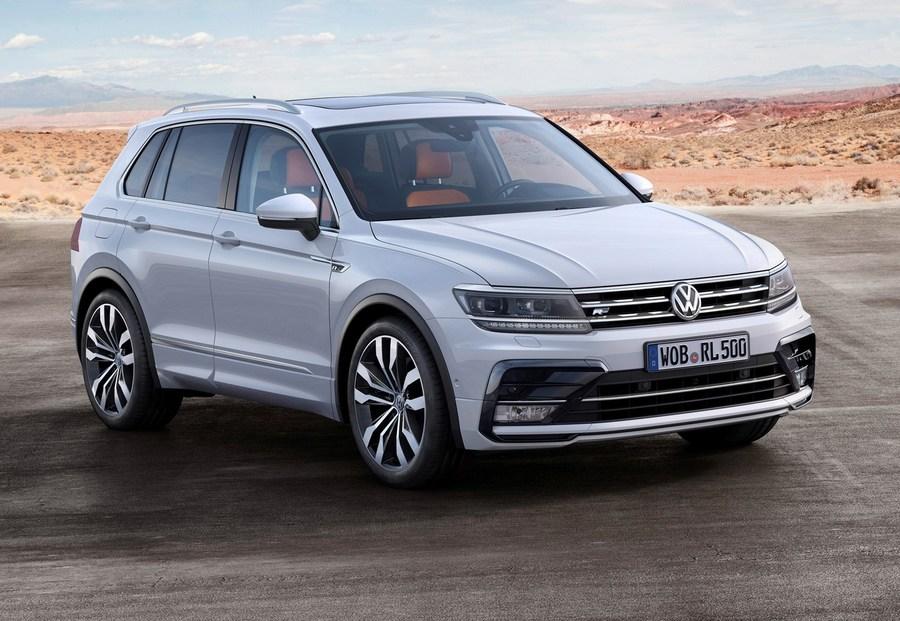 2018 volkswagen tiguan clipart image Download vw tiguan r line white silver clipart 2018 Volkswagen ... image