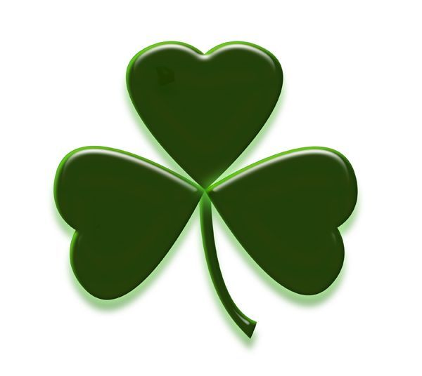 Clipart shamrock free svg freeuse download Free St. Patrick\'s Day Shamrocks Clip Art Images | Shamrock pictures ... svg freeuse download