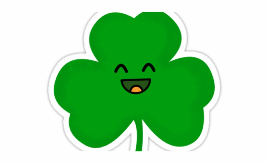 2018 with shamrocks clipart svg freeuse library Shamrock Clipart - Happy Shamrock Free PNG Images & Clipart Download ... svg freeuse library