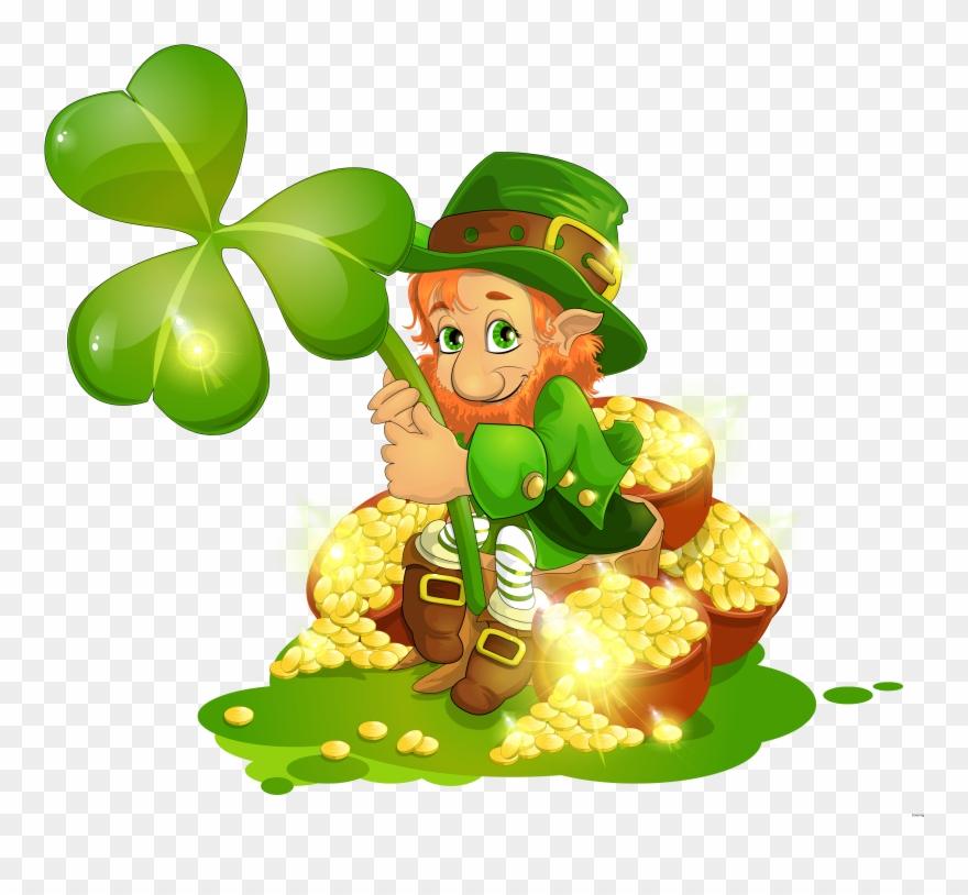 2018 with shamrocks clipart svg stock Popular Pictures Of Shamrocks And Leprechauns St Patricks - San ... svg stock