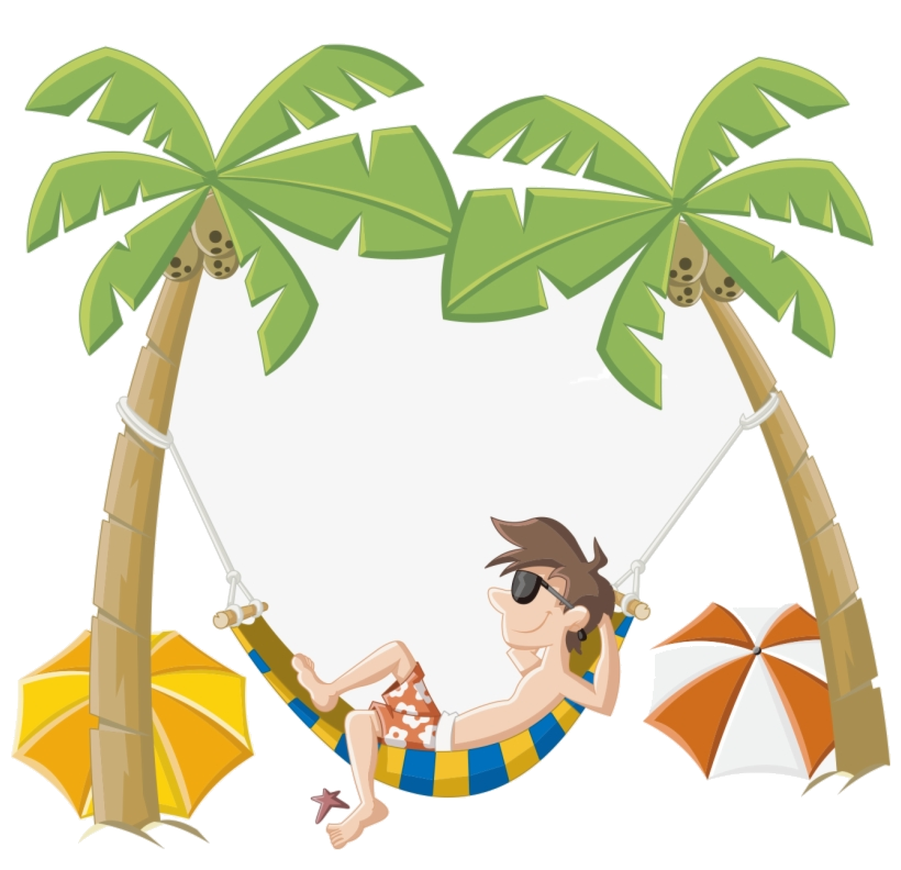 2019 beach vacation clipart jpg free Holiday Cartoon Beach Clip Art Summer Clipart Image Png - AZPng jpg free