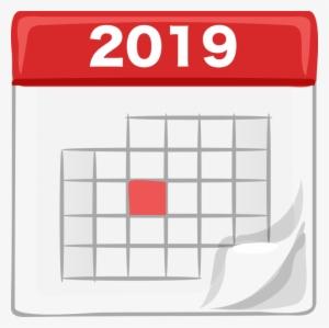 Free clipart calendar 2018. Png transparent image