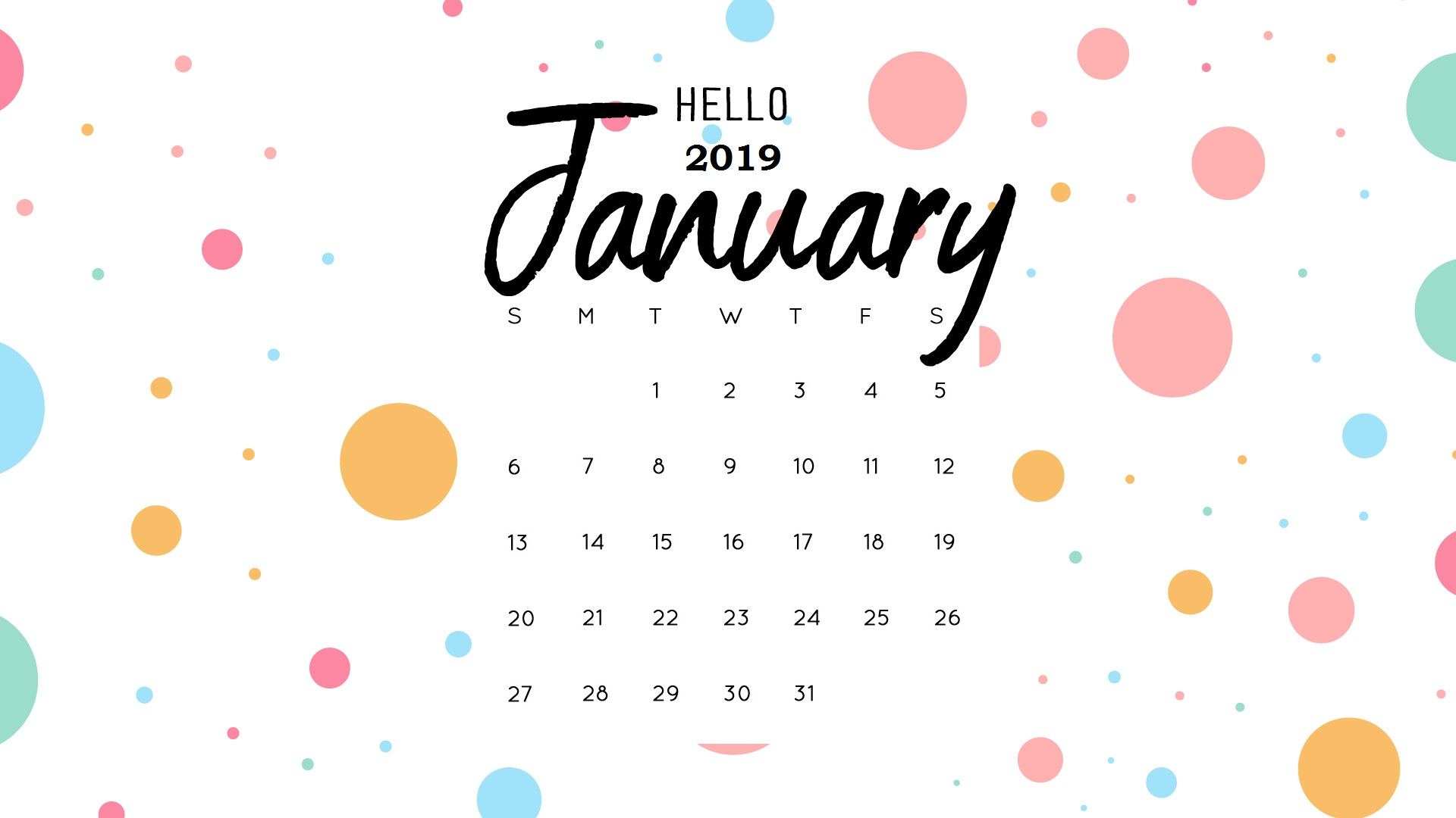 2019 cjanuary calendar clipart svg transparent 1920x1080px Wallpapers 2019 - WallpaperSafari svg transparent