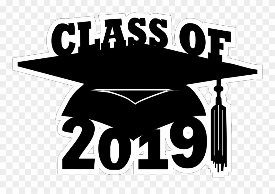 2019 class clipart png black and white stock Class Of 2019 Clipart - Png Download (#2824022) - PinClipart png black and white stock