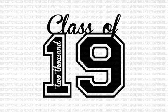 2019 class clipart banner download Description Class of 2019 SVG Printable Clipart Graduation Cut File ... banner download