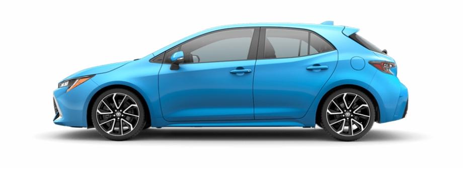 2019 corolla hatchback clipart