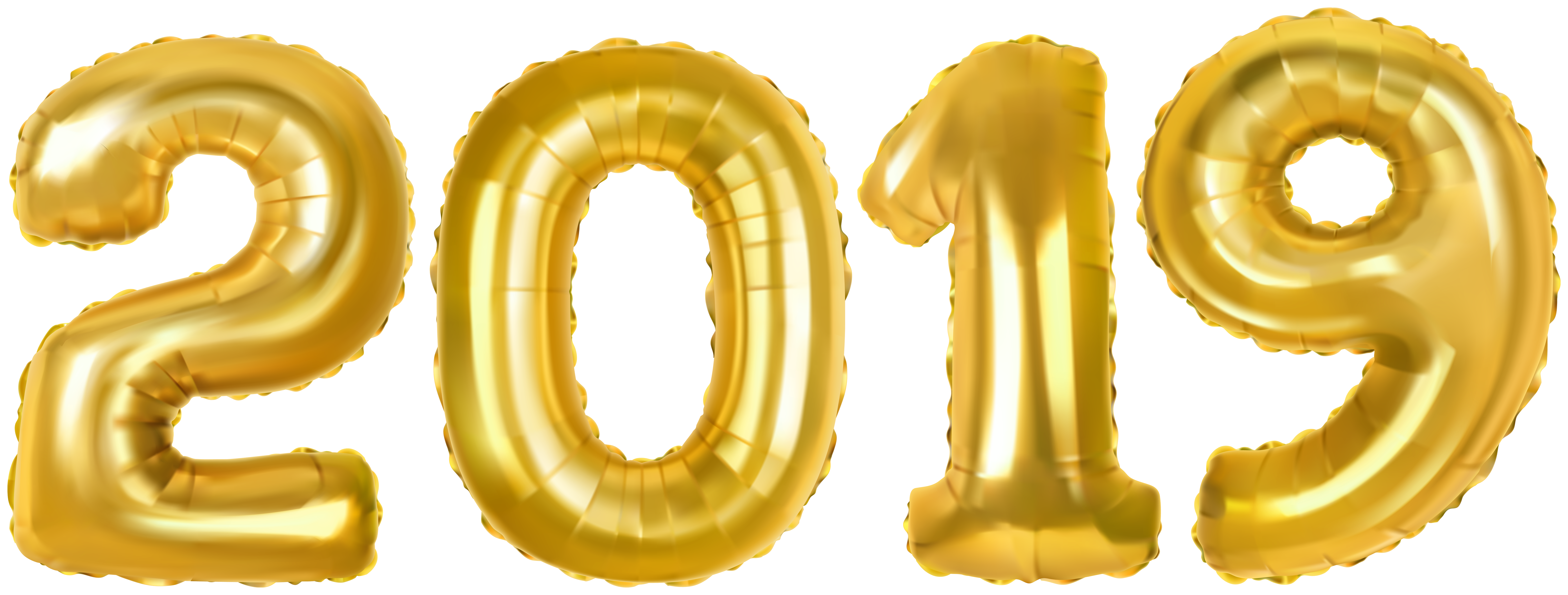 2019 gold balloons clipart clip art royalty free 2019 Gold Baloons PNG Clip Art Image | Gallery Yopriceville - High ... clip art royalty free
