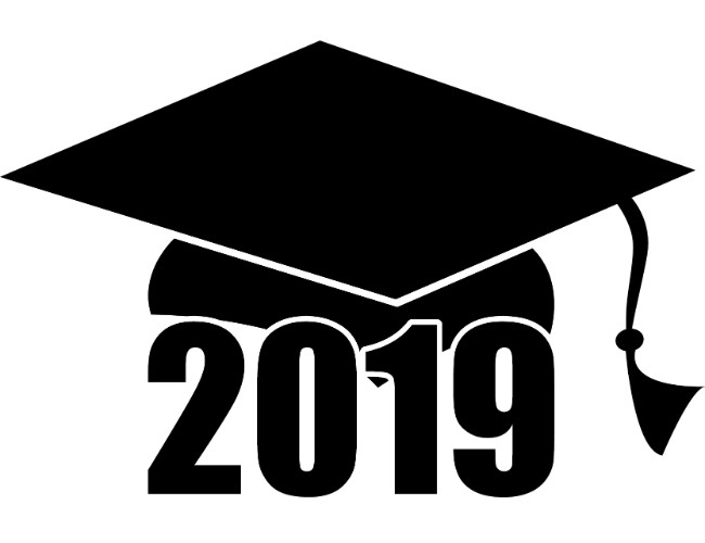 Free 2019 clipart picture freeuse download Graduation | Free Clip Art by Theme | Geographics picture freeuse download