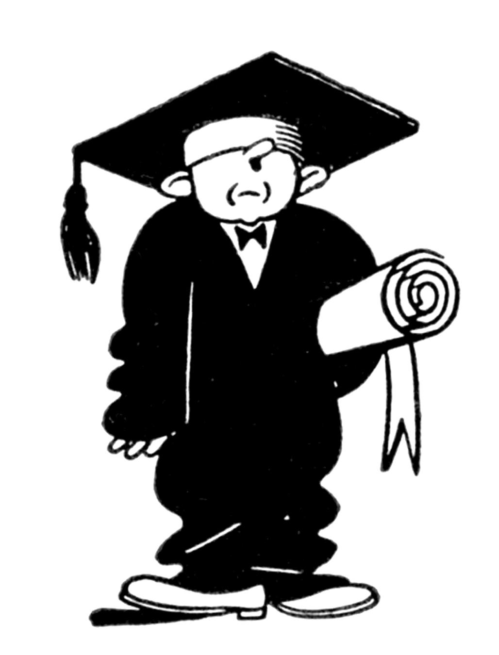 Special graduate clipart png library stock 7 Graduation Clip Art Free! - The Graphics Fairy png library stock