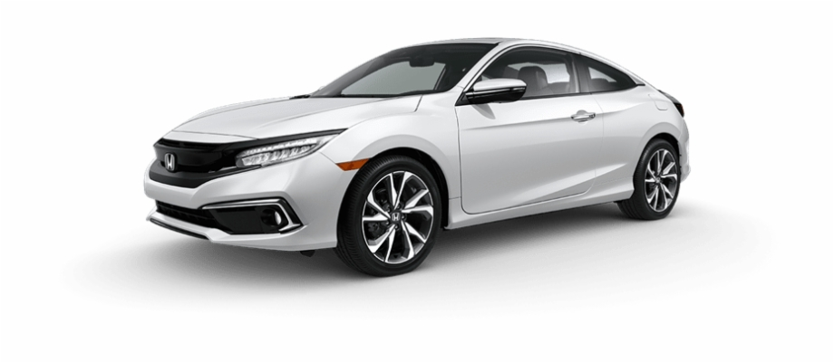 2019 honda civic clipart graphic freeuse library Platinum White Pearl - 2019 Honda Civic Coupe Png Free PNG Images ... graphic freeuse library