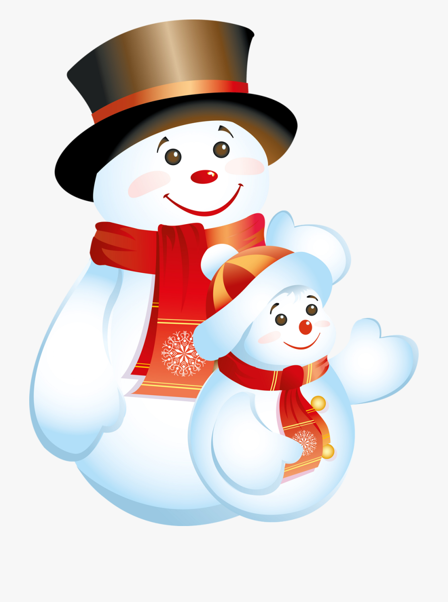 2019 in red clipart stock Christmas Snowman Clipart - Happy New Year 2019 Snow #1483151 - Free ... stock