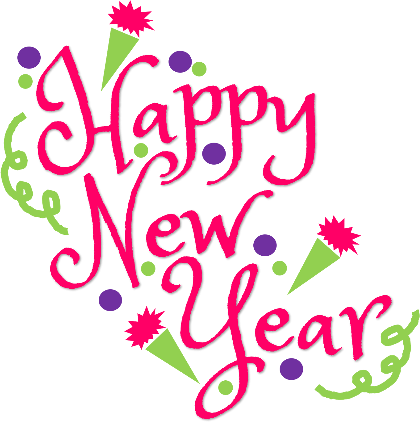 Happy new year clipart no background free graphic black and white library HD Happy New Year Clipart 2019 For Download Free - New Year 2019 Png ... graphic black and white library