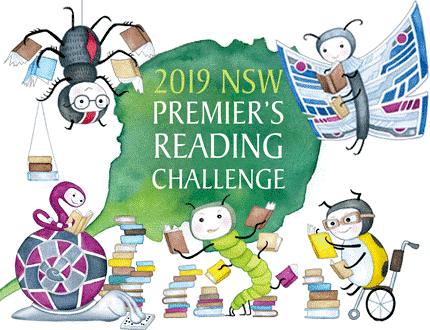 2019 reading challrnge clipart banner Premier\'s Reading Challenge - Sydney Distance Education High School banner