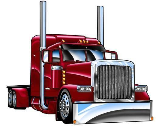 2019 semi truck clipart banner library library Trailer clipart big truck - 190 transparent clip arts, images and ... banner library library