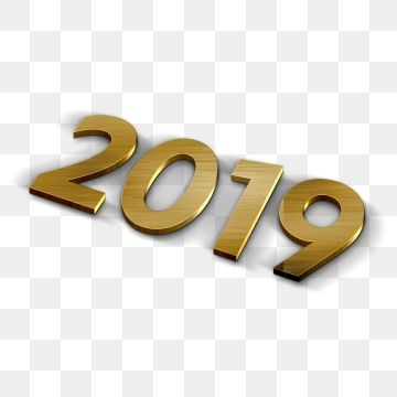 2019-2020 number clipart