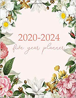 2020 2021 2022 2023 clipart graphic library library Amazon.com: 2020-2024 Five Year Planner: Monthly Logbook and Journal ... graphic library library