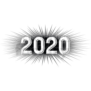 Clipart 2020 graphic transparent download 2020 burst new year clipart . Royalty-free clipart # 410048 graphic transparent download
