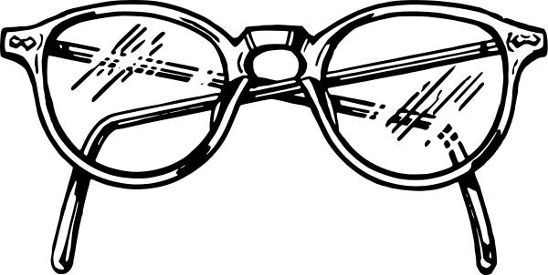 Eye glasses clipart