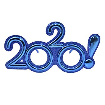 Amazon.com: Amosfun 2020 Glasses Party Photo Glasses Funny Eyewear ... clip royalty free library