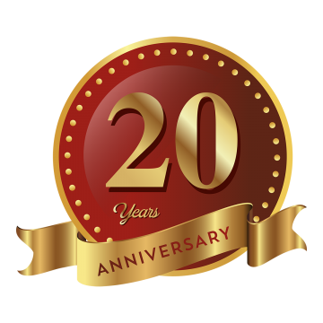 th png vector. Free 20th anniversary clipart