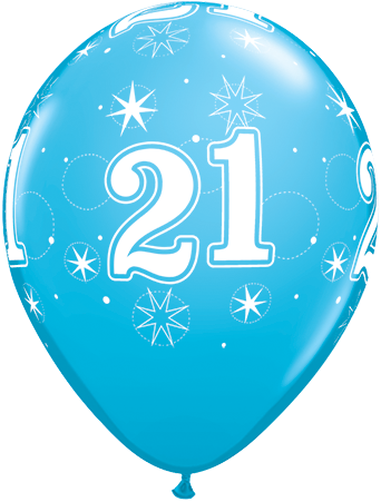 21 ballon clipart clipart black and white library 21st Birthday Balloons Clipart clipart black and white library