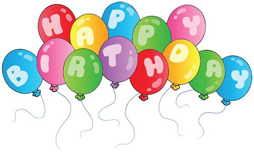 21 ballon clipart svg library Birthday Balloons   Birthday Emoticons   Happy birthday clip, Happy ... svg library