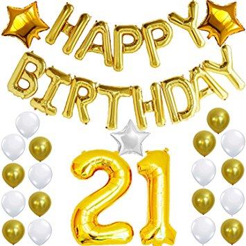 21 ballon clipart freeuse library 21st Birthday Balloons Clipart freeuse library