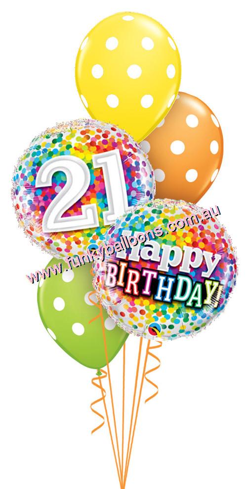21 ballon clipart png transparent stock 21st Birthday Balloons Clipart png transparent stock