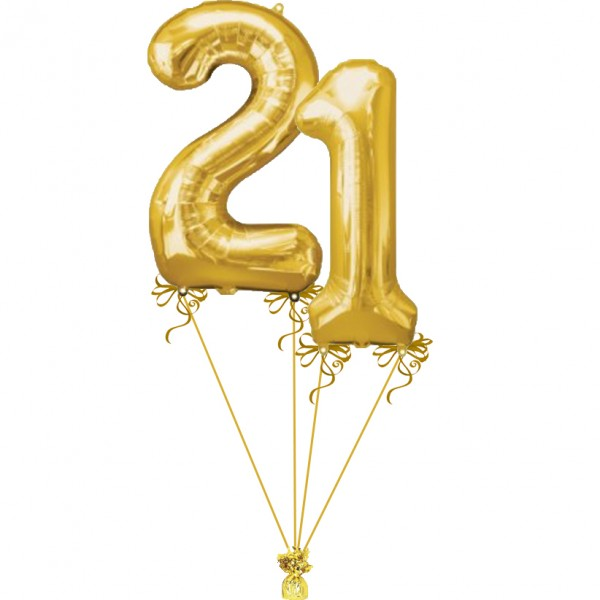 21 gold balloon clipart picture free download 21st - Gold picture free download