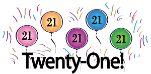 st hostted. 21st birthday clip art images