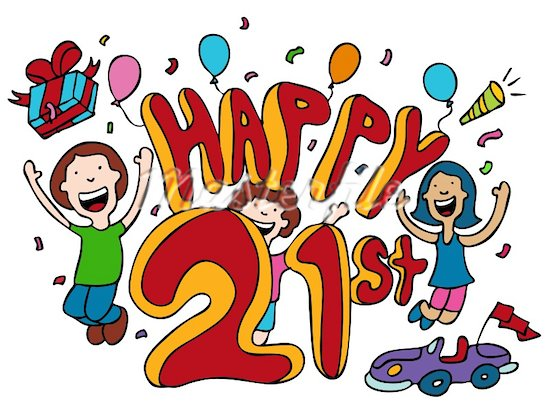 21st birthday clip art images clipart free 21st Birthday Clipart - Clipart Kid clipart free