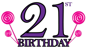 21st birthday clipart images png transparent stock Pin by Donna Phelan on Crafts   21st birthday, Birthday, Birthday clips png transparent stock