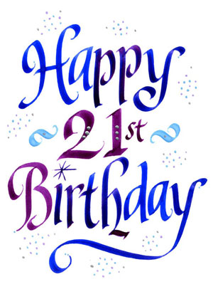 21st birthday clipart images free Happy 21st Birthday Pictures Free   Free download best Happy 21st ... free