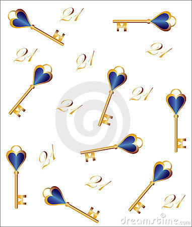 21st birthday key clipart picture royalty free library 21st Birthday Key Royalty Free Stock Photography - Image: 1867907 picture royalty free library