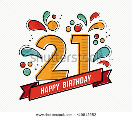 21st birthday pictures clip art clipart black and white download 21st Birthday Stock Images, Royalty-Free Images & Vectors ... clipart black and white download